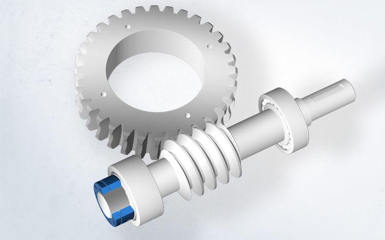 Das Spieth Prinzip mit seinem elastischen Membransystem ermöglicht beim Anwendungsbeispiel Drehtisch die präzise Einstellung von Vorspannkräften.