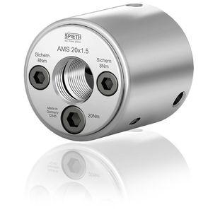 Spannmuttern der Baureihe AMS von Spieth bieten eine rundum sichere Spannkraft.