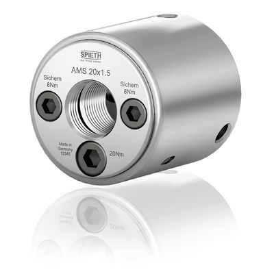 Spieth AMS series clamping nuts offer all-round secure clamping force.