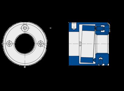 Spannmuttern der Baureihe AMS von Spieth sind im Maschinen- und Vorrichtungsbau gefragt.