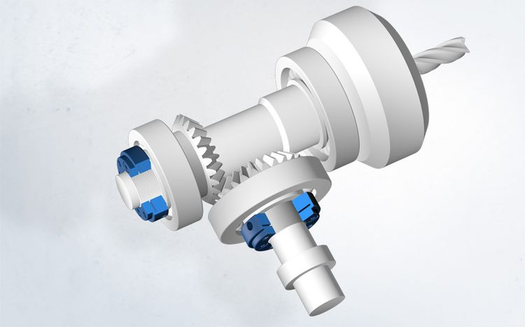 Ultra-flat locknuts from Spieth ensure maximum precision in compact work spindles.