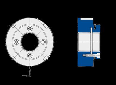Stellmuttern der Baureihe MSW von Spieth bieten eine zuverlässige Sicherung ohne zusätzliche Nuten und Sicherungsbleche.