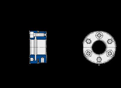 Stellmuttern der Baureihe MSR von Spieth sind frei, sufenlos und exakt positionierbar.