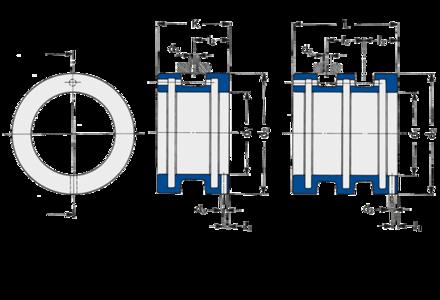 Führungsbuchsen der Baureihe FDK/FDL von Spieth eignen sich für die Spieleinstellung durch Anschlussteile für die Wellenpassung g5.