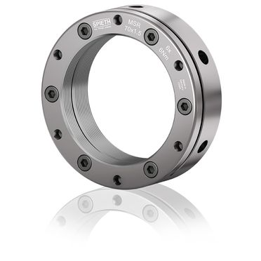 Spieth MSR series locknuts can be precisely adjusted to the demanding tasks in mechanical engineering.