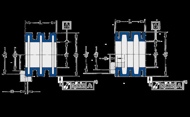 Spannsätze der Baureihe AL/IL von Spieth eignen sich für die Wellenpassung h5/h6.