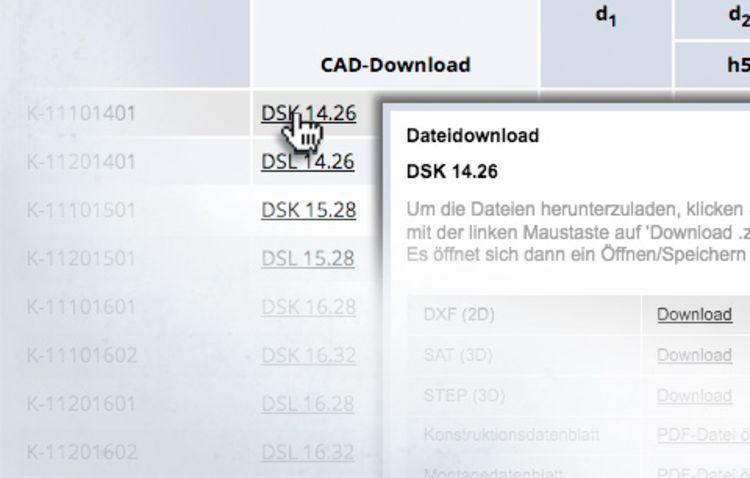 CAD-Daten von Spieth sind hilfreiche Arbeitsunterstützungen.