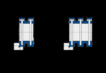Führungsbuchsen der Baureihe FAK/FAL von Spieth sind für die Wellenpassung h5 geeignet.