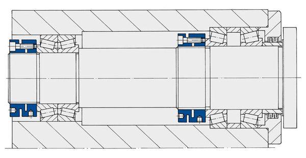 Stellmuttern der Baureihe MSR von Spieth bieten eine zuverlässige Sicherung ohne zusätzliche Nuten und Sicherungsbleche.