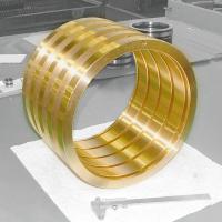 Führungsbuchsen in Sonderausführungen von Spieth sind zur Führung einer Pinole mit einem Durchmesser von 260 mm erhältlich.